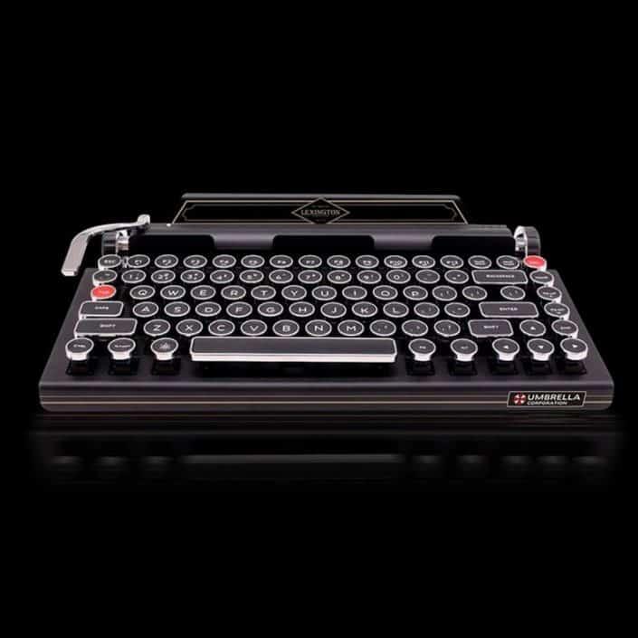 Qwerkywriter Retro Keyboard is the Modern Vintage Typewriter